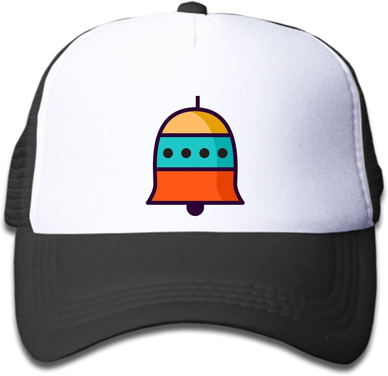 Baseball Caps Bell Illustration Hat Black White