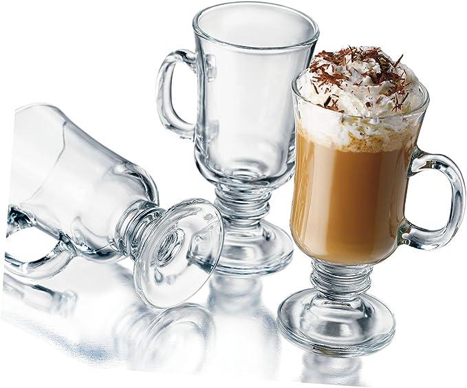 Amazon Com Libbey 8 1 2 Ounce Irish Coffee Mug 4 Piece Set Irish Coffee Glasses Glassware Drinkware