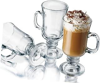 product image for Libbey 8-1/2-Ounce Irish Coffee Mug, 4-Piece Set