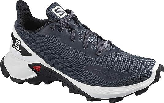 Salomon ALPHACROSS Blast J, Zapatillas de Trail Running Unisex niños, Gris (India Ink/White/Black), 31 EU: Amazon.es: Zapatos y complementos