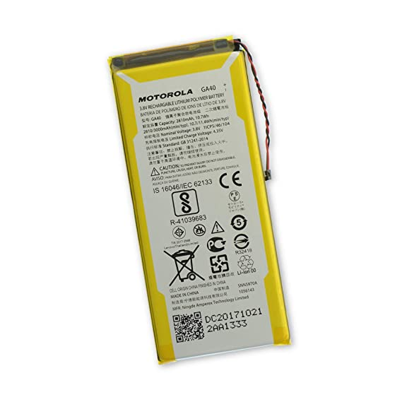 new arrival 07818 43eba Amazon.com: Moto G4/G4 Plus Replacement Battery: Cell Phones ...