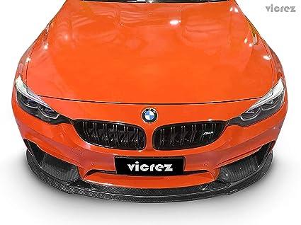 Amazon Com Vicrez Zr Carbon Fiber Front Lip Splitter Vz101041 For