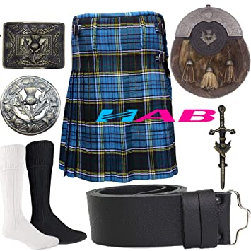 Anderson Tartan Kilt by Scottish KiltMade To Measure