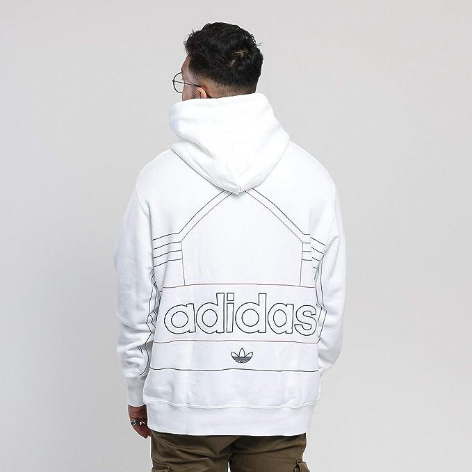 Adidas Ewing Hoody DV3102 Sweat à capuche pour homme Blanc