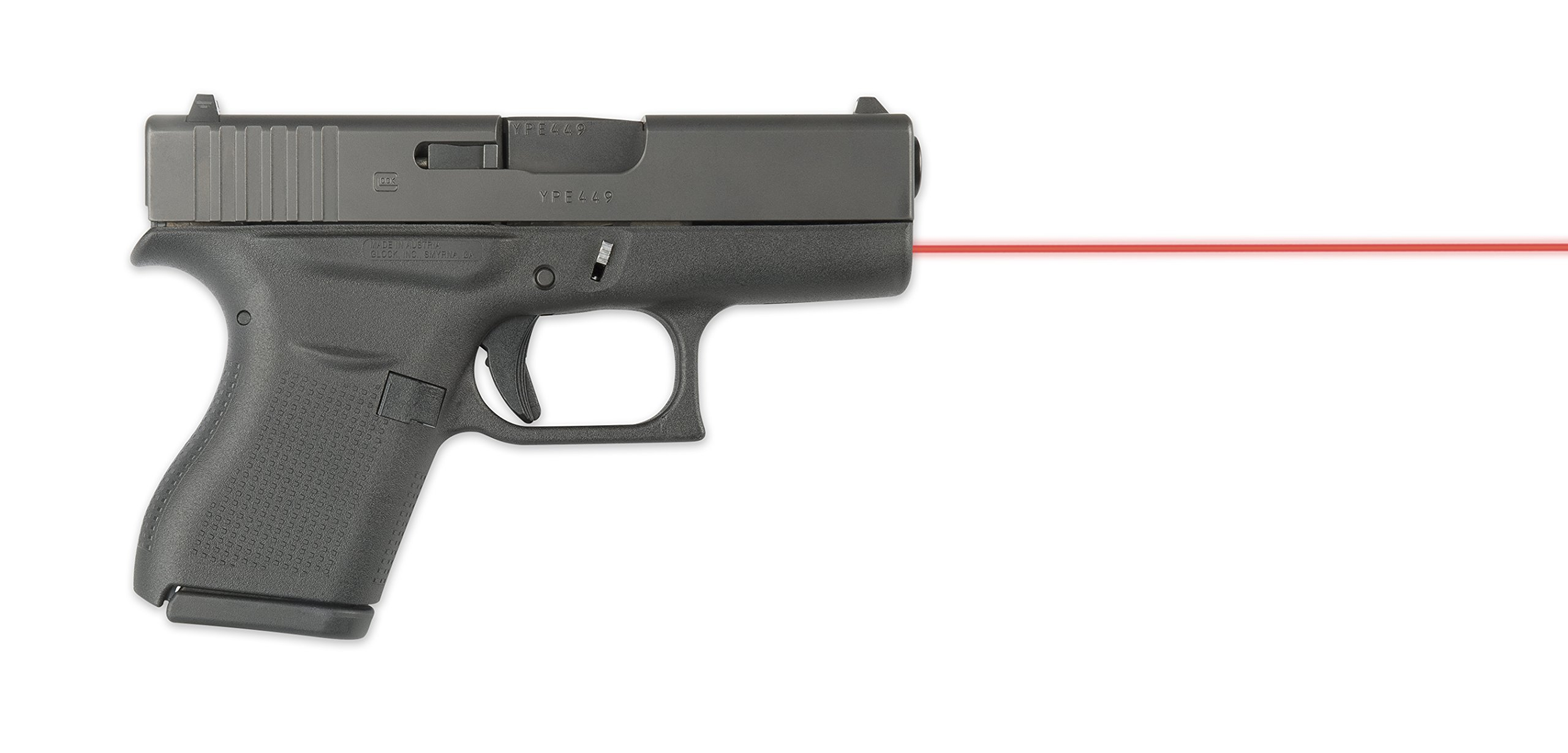 Guide Rod Laser (Red) For Glock 43 by LaserMax (Image #4)