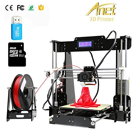 Anet A8 Impresora 3D Kit Prusa I3 Pantalla LCD Acrylic FDM DIY 3D ...