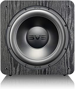 "SVS SB-2000 Pro 550 Watt DSP Controlled 12"" Sealed Subwoofer - Black Ash"