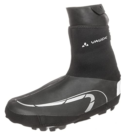VAUDE Shoecover Pallas III - Manguitos color black, talla 4043