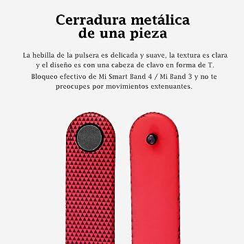 Monuary 8 Piezas Correa para Xiaomi Mi Band 3/4 Pulsera Banda ...