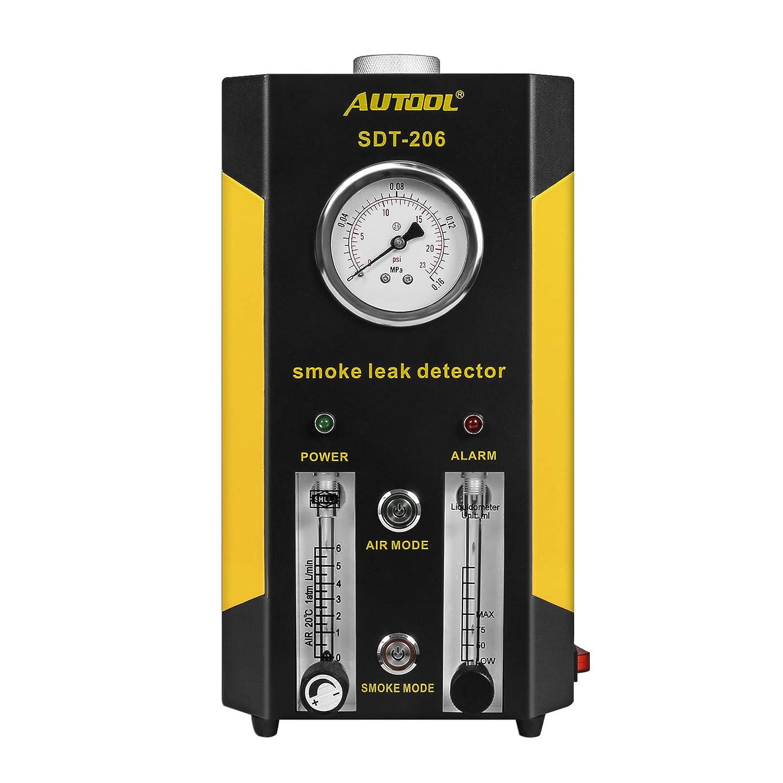 Amazon.com: AUTOOL SDT206 Automotive Fuel leakage Diagnostic Tester 2 MODES Car Conduit PIPE System Leakage Tester Car Fuel Leak Detector For 12V Vehicle ...