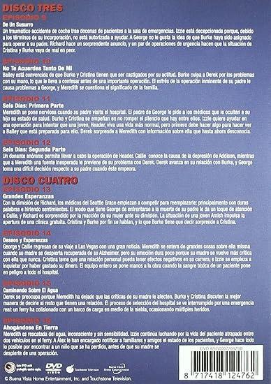 Anatomía De Grey - Temporada 3 [DVD]: Amazon.es: Patrick Dempsey, Katherine Heigl, T.R. Knight, Ellen Pompeo, Justin Chambers, Isaiah Washington, Sandra Oh, ...