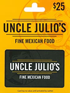 Uncle Julio's Gift Card