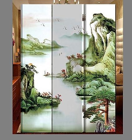 Amazoncom Oriental Style Foldable Panel Shoji Screen Room Divider