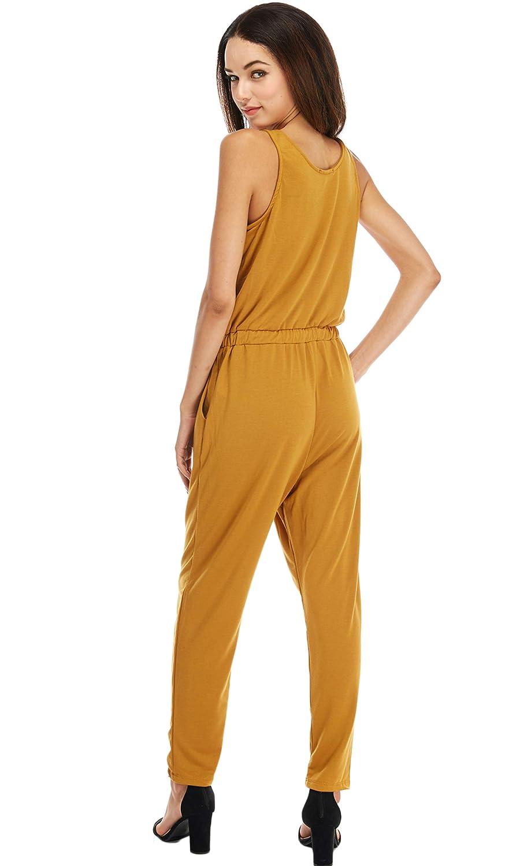 Loving People Full Length Sleeveless Jumpsuit