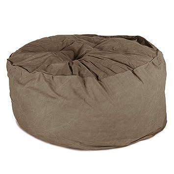 Lounge Pug - Chunky DENIM - CLOUDSAC - Large Memory Foam GIANT Bean Bag -  The 28050c5612c66