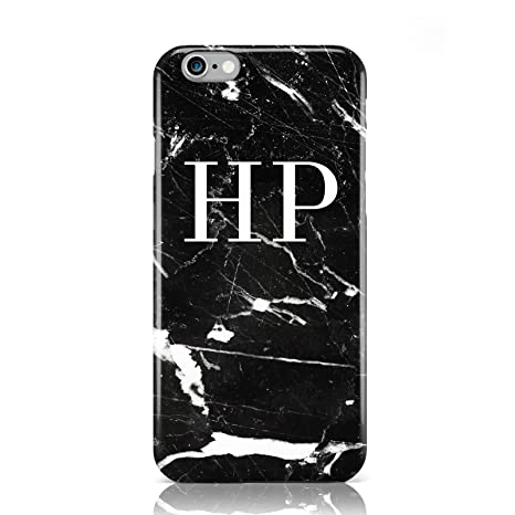pretty nice 47541 2ca88 PERSONALISED WHITE MARBLE INITIAL 8 MOBILE PHONE CASE FOR APPLE IPHONE 6 6S