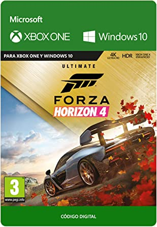 Forza Horizon 4 Ultimate | Xbox One - Código de descarga: Amazon ...