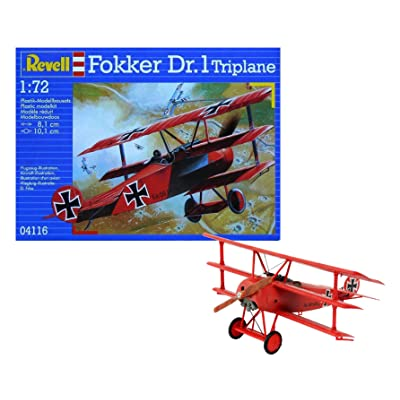 Revell Of Germany Fokker Dr.1 PL Triplan: Toys & Games