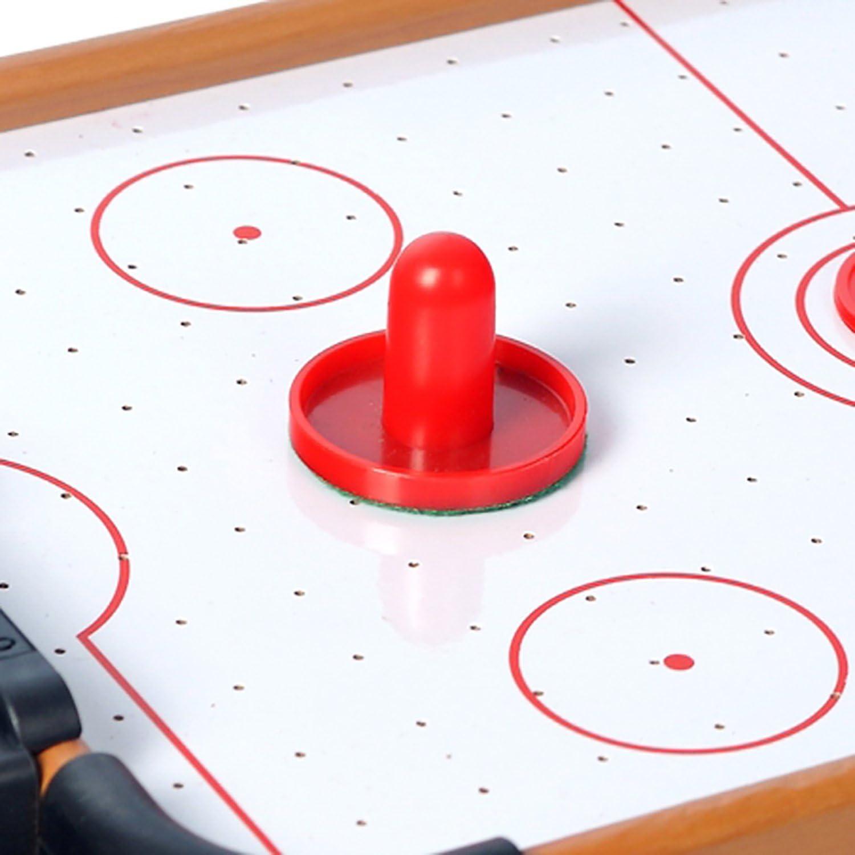 HAODELE Mini Mesa de Hockey de Aire Construcción de Madera MDF Un ...