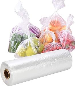 MBLABEL Plastic Produce Bags, 12 x 20