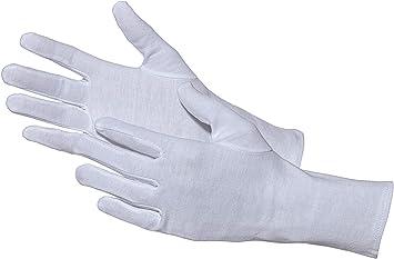 Jah 3203 algodón Guante, que garantiza, ligera, color blanco, tamaño 6, 24 unidades): Amazon.es: Bricolaje y herramientas
