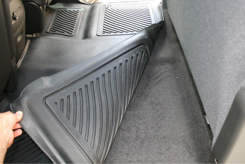 Aries TY06421509 Black Rear 3D Floor Liner