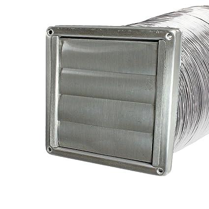 Spares2go acero inoxidable pared ventilación salida de aire ...