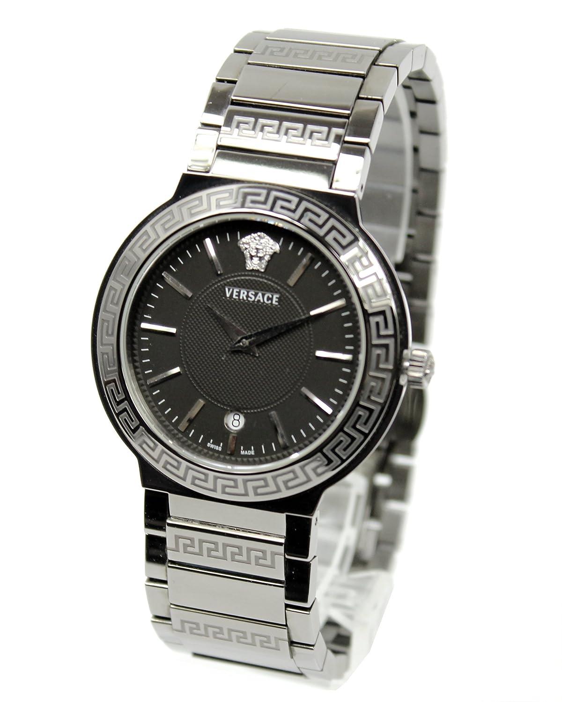 [ヴェルサーチ]VERSACE 腕時計 ランドマーク ブラックPVD メンズ クォーツ デイト ZLQ[中古品] [並行輸入品] B07CXQYXWD