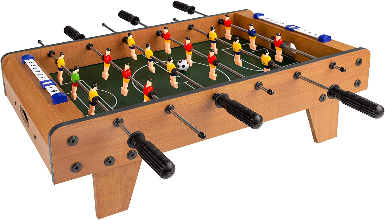COLORBABY - Futbolín madera sobremesa cbgames