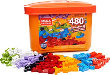 Mega Construx Caja de 480 piezas y bloques de construcción para ...