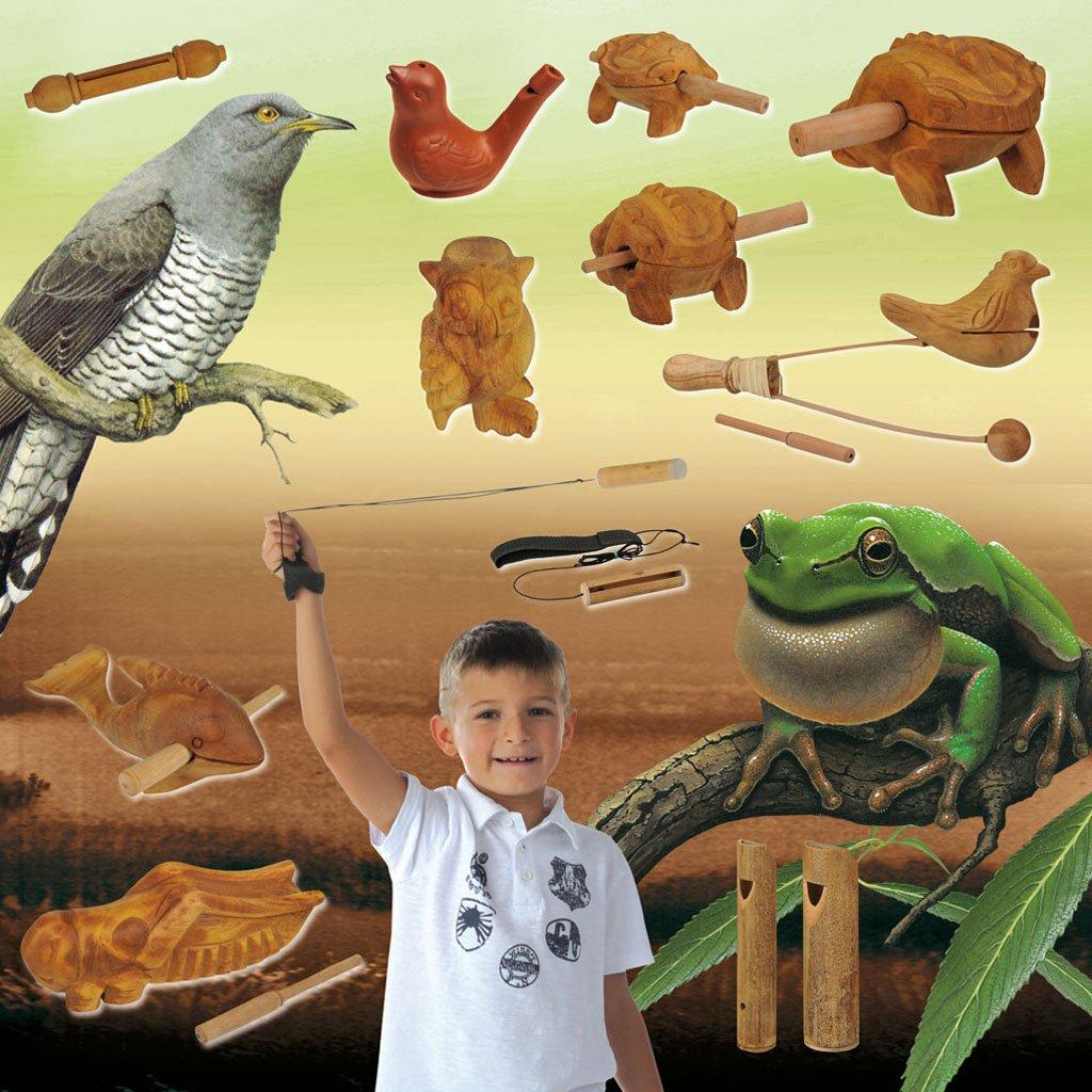 Wiemann Lehrmittel Tierstimmen Set - 12-teilig