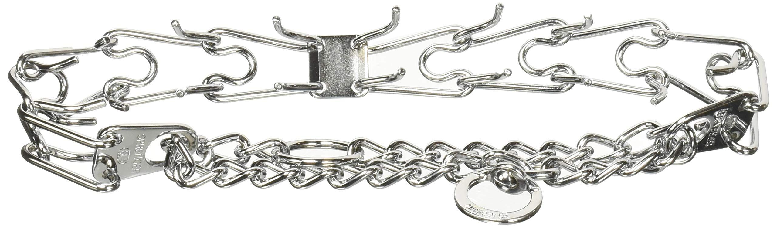 Herm-SPRENGER-Ultra-Plus-Prong-Dog-Training-Collar-30-mm-x-18-Steel-Chrome-Plated-Dog-Prong-Collar-Pinch-Collar-for-Dogs-Dog-Correction-Collar-Dog-Prong-Training-Collar-Dog-Supplies