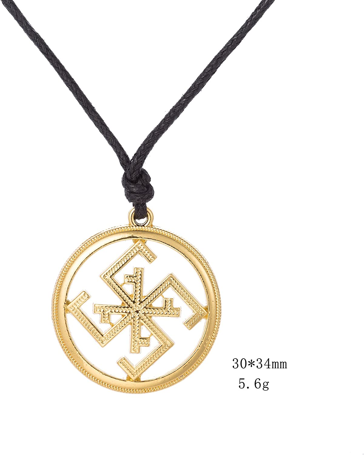 fishhook Religious Norse Viking Amulet Pattern Lucky Meaning Cross Pendant Necklace