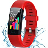 Inspiratek Kids Fitness Tracker for Girls and Boys Age 5-16 (4 Color)- Waterproof Fitness Watch for Kids with Heart Rate…