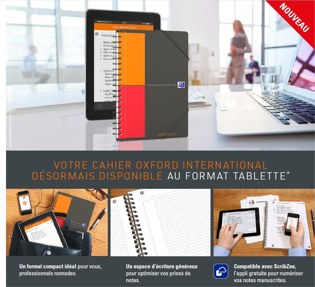 Oxford 15109 Cahier Activebook Reliure Int/égrale B5 176 x 250mm Papier Assorties