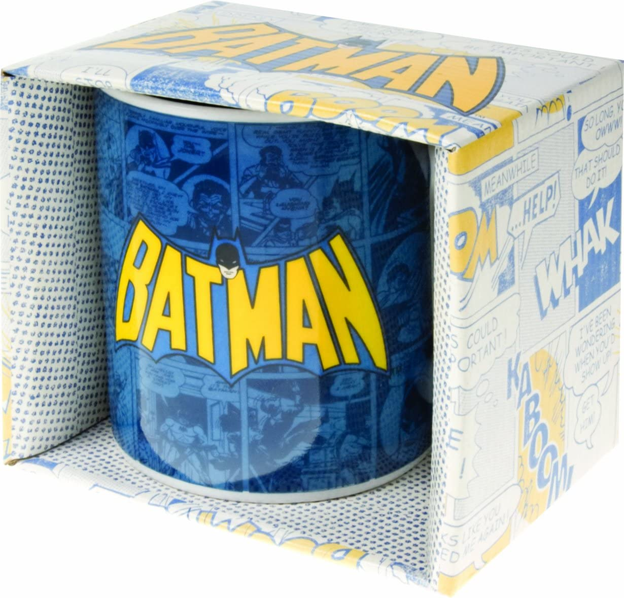 Taza Batman Retro: Amazon.es: Hogar