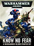 "GAMES WORKSHOP 60010199017"" Warhammer 40000 Know No Fear English Model Game"