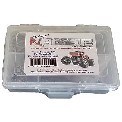 RCScrewZ Traxxas Stampede XL-5 Stainless Steel Screw Kit - for Traxxas Kit 36054 - tra021: Toys & Games