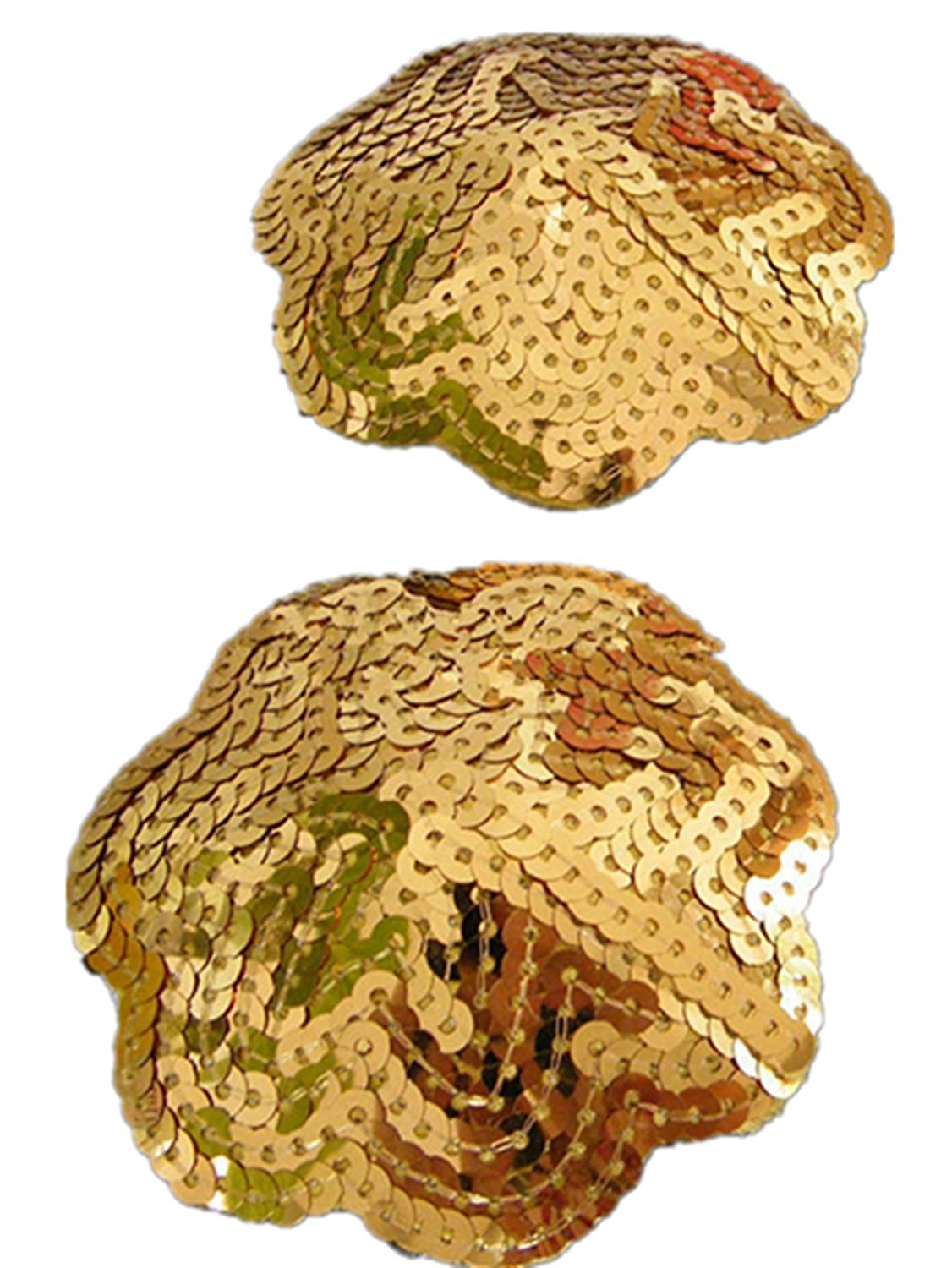 TX-Originality Reusable Nipple Cover a pair of Pasties Gold
