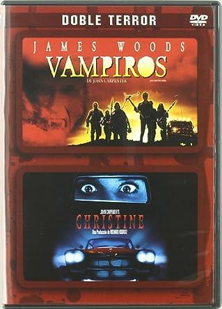 Pack Doble Terror:Christine + Vampiros De John Carpenter DVD: Amazon.es: Keith Gordon, James Woods, John Carpenter, Keith Gordon, James Woods, Richard Kobritz, Sandy King: Cine y Series TV