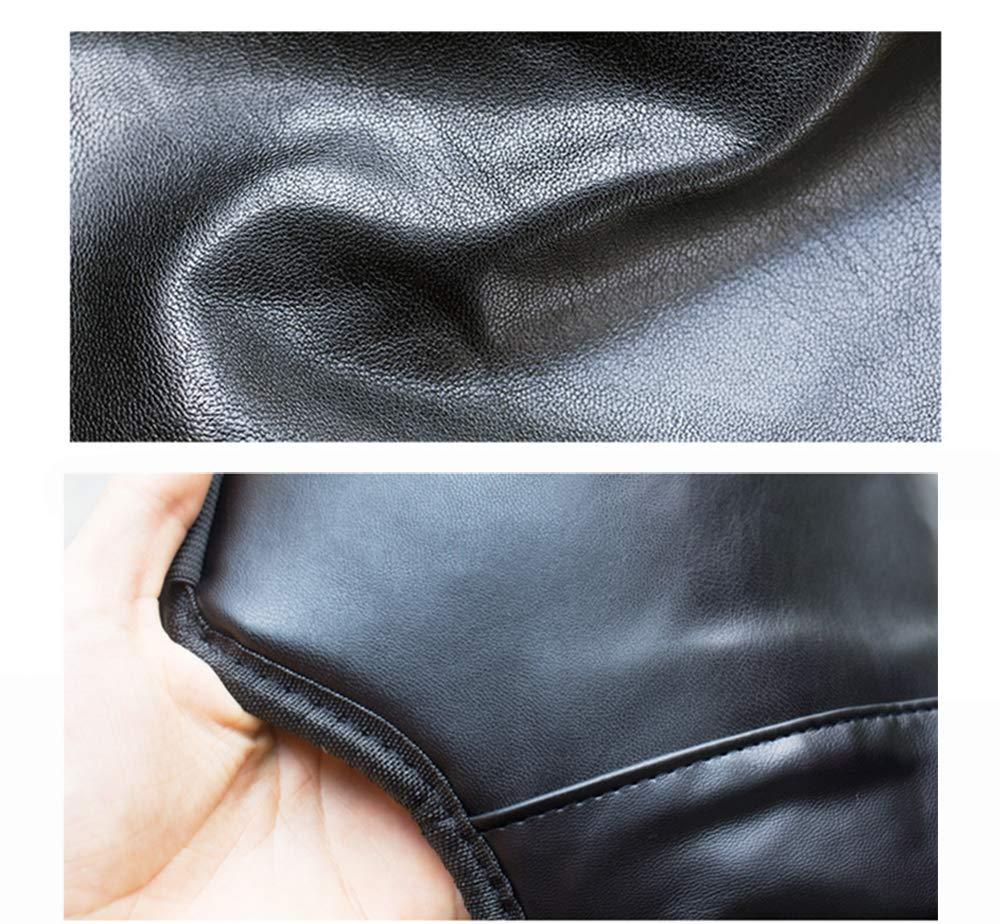 Ginocchiere Calda copertura antivento per moto Ginocchio in pelle PU antivento per scooter antinvecchiamento