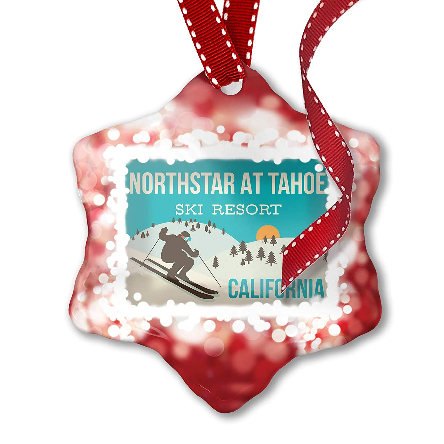 Christmas Clip Art North Star.Amazon Com Neonblond Christmas Ornament Northstar At Tahoe