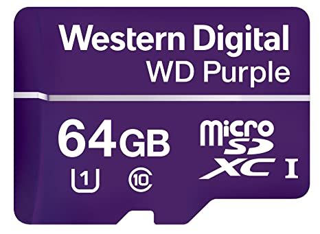 WD Purple - Tarjeta de Memoria (64 GB, UHS-I Class 1 (U1 ...