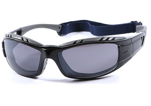 Cabeza correa Gafas de sol 100% UV400 protección para moto ...