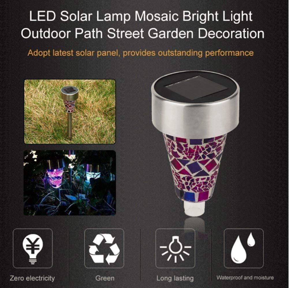 LED Solar Hang Pendant Lights Colorful Outdoor Garden Lamp Chandelier TYN