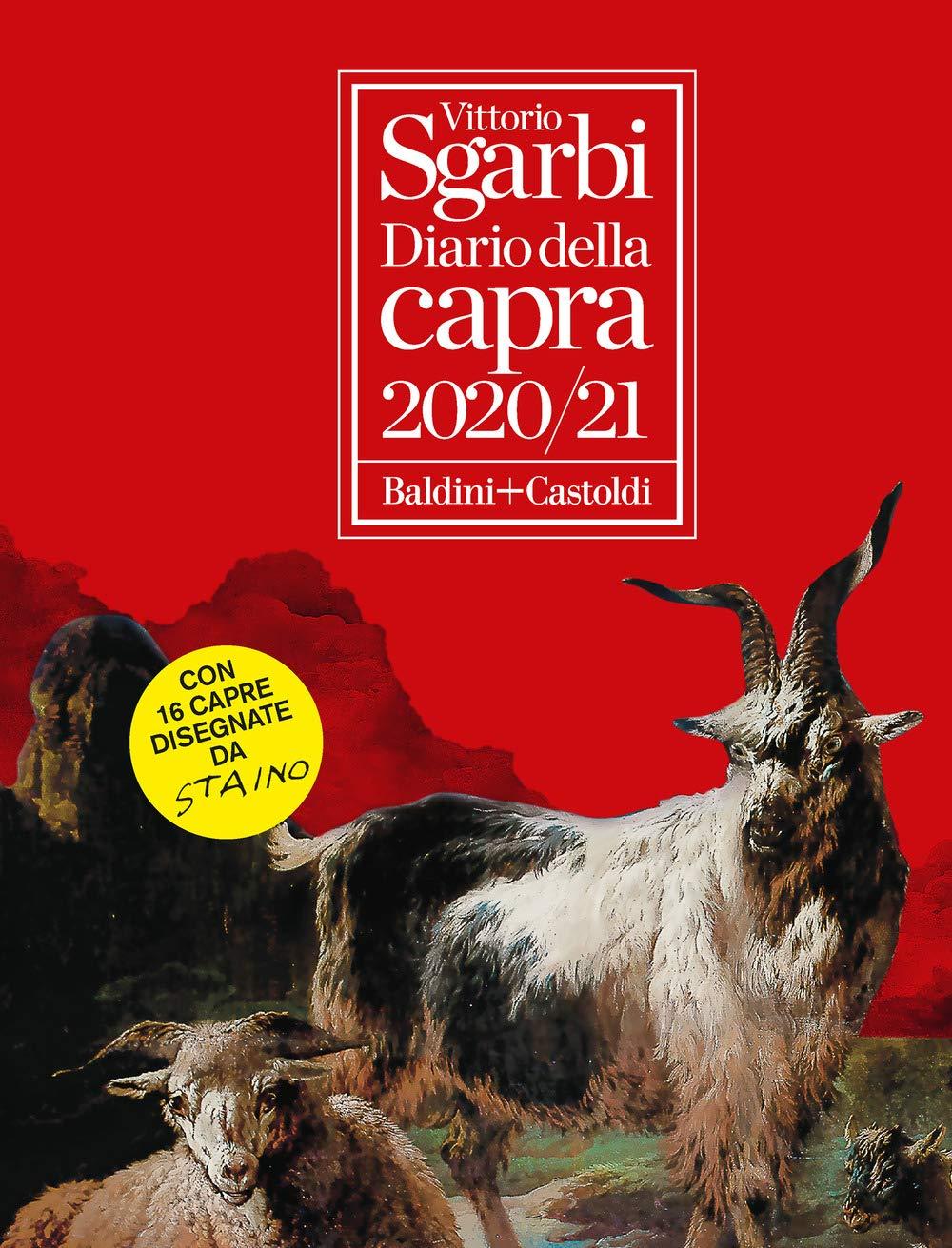 Diario della capra 2020/2021 di vittorio sgarbi 8893883201