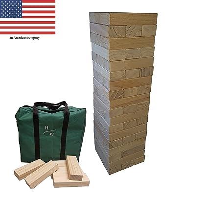 Huntsville Warehouse : Giant Toppling Tower , Wood Stacking Yard Game