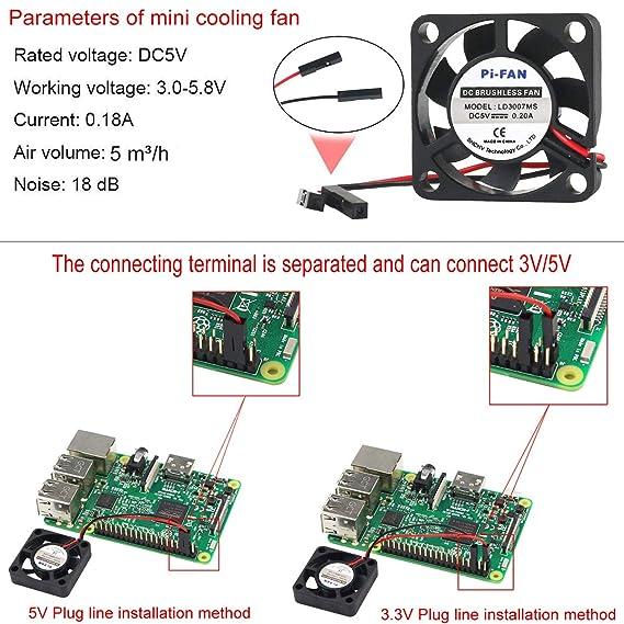 Amazon.com: Makerfire - Carcasa protectora para Raspberry Pi ...