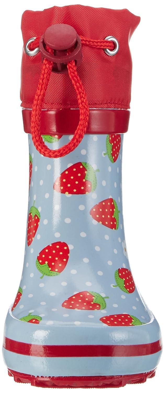 Bottes /& Bottines de Pluie Fille Beck Erdbeere