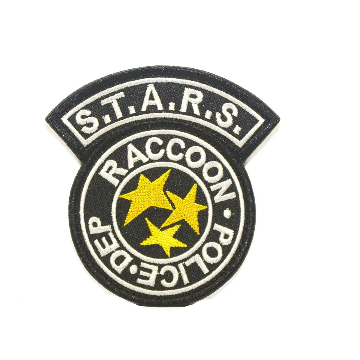 Cobra Tactical Solutions Resident Evil S.T.A.R.S. Racoon Police DEP Patch con velcro (Azul)